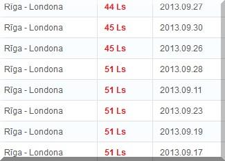 Meklēt aviobiļetes uz Londonu
